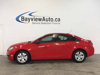 Used 2016 Chevrolet Cruze - AUTO|1.8L|A/C|ON STAR|LOW KM! for sale in Belleville, ON