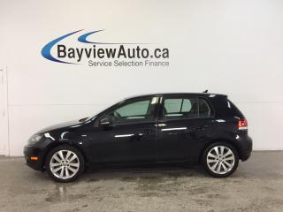 Used 2013 Volkswagen Golf WOLFSBURG- 2.5L|ALLOYS|ROOF|HTD STS|BLUETOOTH! for sale in Belleville, ON
