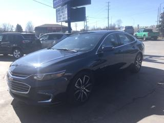 Used 2017 Chevrolet Malibu 1LT LEATHER/SUNROOF for sale in Brantford, ON