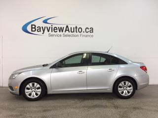 Used 2013 Chevrolet Cruze LS- 6 SPEED|1.8L|A/C|ON STAR|LOW KM! for sale in Belleville, ON
