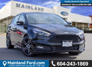 Used 2017 Ford Focus ST Base ACCIDENT FREE, BC LOCAL, LOW KMS for sale in Surrey, BC