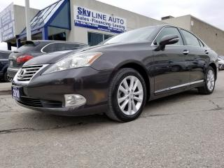 Used 2010 Lexus ES 350 NAVI|CAMERA|LEATHER|SUNROOF|ALLOYS for sale in Concord, ON