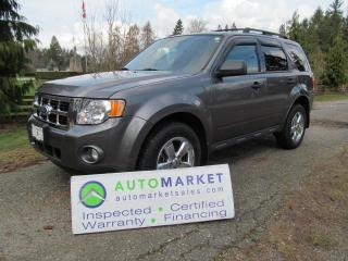 Used 2010 Ford Escape XLT, LEATHER, MOON, INSP, FREE WARRANTY for sale in Surrey, BC