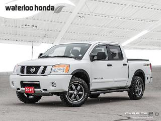 Used 2015 Nissan Titan PRO-4X Bluetooth, Back Up Camera, Navigation, and More! for sale in Waterloo, ON