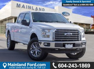 Used 2016 Ford F-150 XLT ACCIDENT FREE, BC LOCAL for sale in Surrey, BC