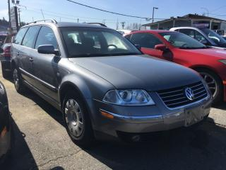 Used 2004 Volkswagen Passat Wagon 4dr Wgn GLS Auto for sale in Coquitlam, BC