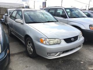 Used 2001 Toyota Corolla 4dr Sdn CE Auto (Natl) for sale in Coquitlam, BC