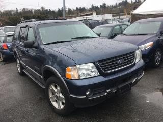 Used 2002 Ford Explorer 4dr XLT 4WD for sale in Coquitlam, BC