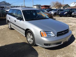 Used 2002 Subaru Legacy 5dr L Man. for sale in Surrey, BC