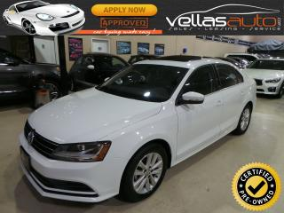 Used 2017 Volkswagen Jetta Wolfsburg Edition WOLFSBURG EDITION| SUNROOF| HEATED SEATS for sale in Woodbridge, ON