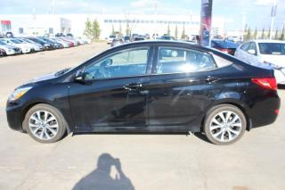 Used 2017 Hyundai Accent GLS AUTO/SUNROOF/HEATEDSEATS/BLUETOOTH for sale in Edmonton, AB