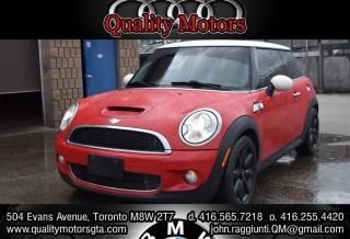 Used 2007 MINI Cooper S S for sale in Etobicoke, ON