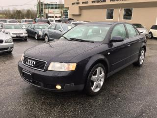 Used 2003 Audi A4 WE ARE MOVING! COQUITLAM STORE LIQUIDATION for sale in Langley, BC