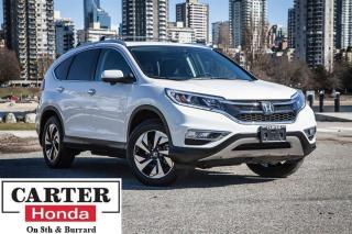 Used 2015 Honda CR-V Touring, sunroof, navi, backup cam, CERTIFIED! for sale in Vancouver, BC