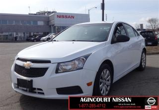 Used 2011 Chevrolet Cruze LS Sedan |Cruise Control|Power Locks|Power Windows for sale in Scarborough, ON