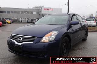 Used 2009 Nissan Altima Sedan 2.5 S CVT |Cruise Control|Front Heated Seats for sale in Scarborough, ON