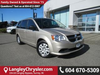 Used 2014 Dodge Grand Caravan <B>*2nd Row STOW 'N GO*TRI-ZONE CLIMATE*<b> for sale in Surrey, BC