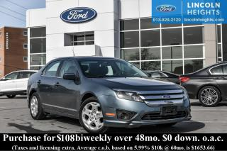 Used 2011 Ford Fusion I4 SE for sale in Ottawa, ON