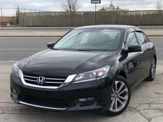 Used 2015 Honda Accord Sport **ACCIDENT FREE** FINANCING AVAILABLE for sale in Mississauga, ON