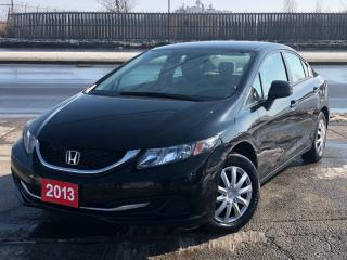 Used 2013 Honda Civic LX **ACCIDENT FREE** for sale in Mississauga, ON