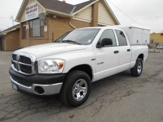 Used 2008 Dodge Ram 1500 ST 4X4 5.7L HEMI Quad Cab 6.5Ft Service Box 157Km for sale in Etobicoke, ON