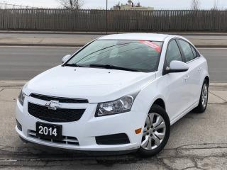 Used 2014 Chevrolet Cruze 1LT **ACCIDENT FREE** FINANCING AVAILABLE! for sale in Mississauga, ON