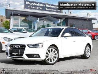Used 2014 Audi A4 KOMFORT PKG |1OWNER|BLUETOOTH|XENON|ROOF|6SPEED for sale in Scarborough, ON