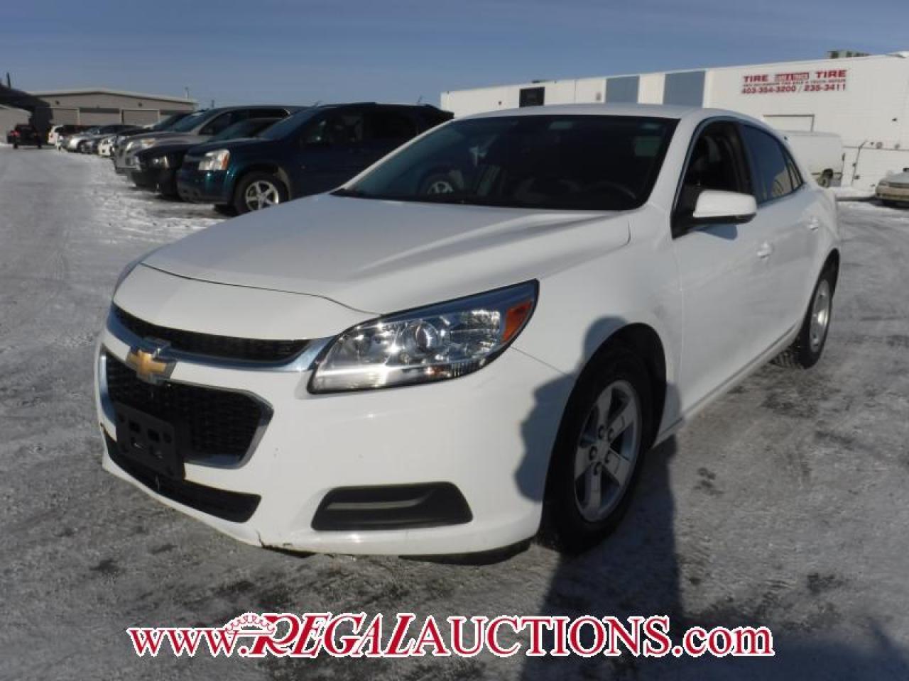 Photo of White 2016 Chevrolet MALIBU LIMITED LT 4D SEDAN 2.5L