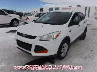 Used 2013 Ford ESCAPE S 4D UTILITY FWD 2.5L for sale in Calgary, AB