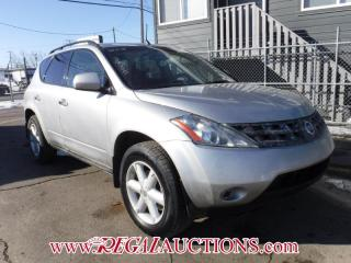Used 2005 Nissan MURANO SE 4D UTILITY for sale in Calgary, AB