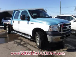 Used 2006 Ford F350SD  FLAT DECK  4WD for sale in Calgary, AB