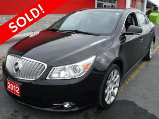 Used 2012 Buick LaCrosse w/1ST for sale in Cornwall, ON