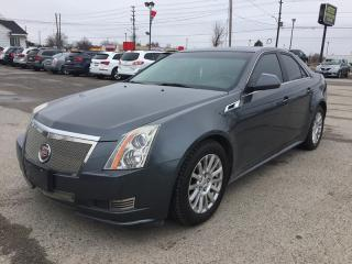 Used 2011 Cadillac CTS RWD * Leather * PAN Sunroof * SAT Radio System for sale in London, ON