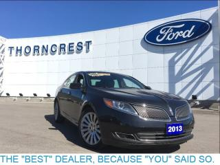 Used 2013 Lincoln MKS Full Size Luxury ! 64 Kms ! for sale in Etobicoke, ON