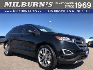 Used 2015 Ford Edge TITANIUM 4x4 for sale in Guelph, ON