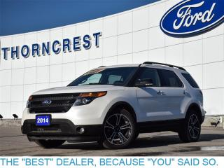 Used 2014 Ford Explorer Sport-4X4-loaded-Pls Call for sale in Etobicoke, ON