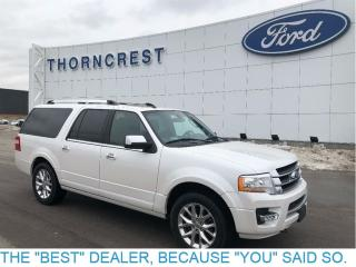 Used 2017 Ford Expedition Max Limited-The Long One ! for sale in Etobicoke, ON