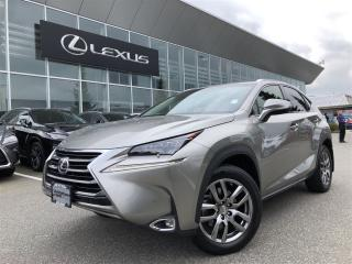Used 2015 Lexus NX 200t 6A for sale in Surrey, BC