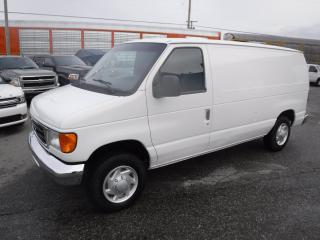 Used 2007 Ford Econoline E-150 Cargo Van with Shelving for sale in Burnaby, BC