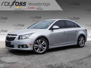 Used 2014 Chevrolet Cruze LT LEATHER, BACKUP CAM, SUNROOF for sale in Woodbridge, ON