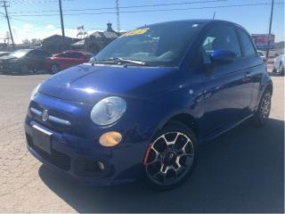 Used 2012 Fiat 500 Sport NICE LOCAL TRADE IN!! for sale in St Catharines, ON