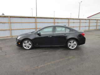 Used 2016 CHEV CRUZE LIMITED LTZ FWD for sale in Cayuga, ON