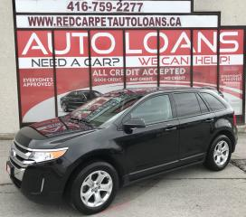 Used 2013 Ford Edge SEL-ALL CREDIT ACCEPTED for sale in Scarborough, ON