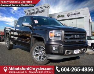 Used 2015 GMC Sierra 1500 SLT *ACCIDENT FREE* for sale in Abbotsford, BC