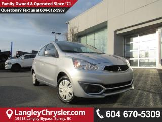 Used 2017 Mitsubishi Mirage ES <b>*AIR CONDITIONING*BLUETOOTH*ACCIDENT FREE*<b> for sale in Surrey, BC