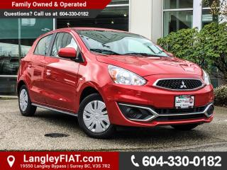 Used 2017 Mitsubishi Mirage ES B.C OWNED! for sale in Surrey, BC