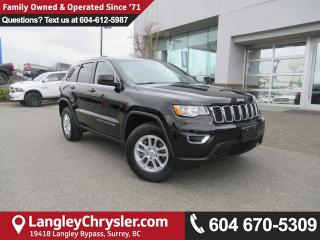 Used 2018 Jeep Grand Cherokee Laredo <B>*7.0 TOUCHSCREEN MEDIA*APPLE CARPLAY*GOOGLE ANDROID AUTO*<b> for sale in Surrey, BC