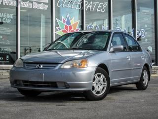 Used 2002 Honda Civic LX sedan/ AUTO for sale in Scarborough, ON