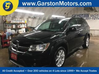 Used 2016 Dodge Journey R/T*AWD*LEATHER*7 PASSENGER*KEYLESS ENTRY w/REMOTE START*ALPINE AUDIO*HEATED FRONT SEATS/STEERING WHEEL*POWER DRIVER SEAT*PUSH BUTTON IGNITION* for sale in Cambridge, ON