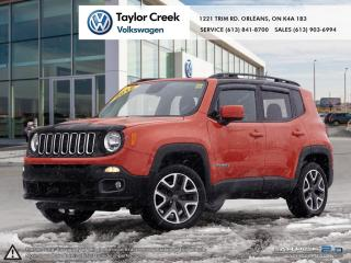 Used 2015 Jeep Renegade 4x4 North for sale in Orleans, ON